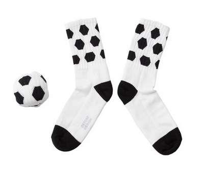 Sports Ball-Themed Socks