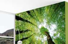 Enchanted Forest Wall Murals - This Forest Wall Mural is a Nature-Lover's Dream Come True