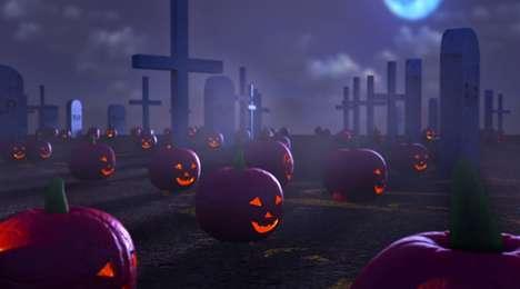 Eerie Pumpkin Field Animations