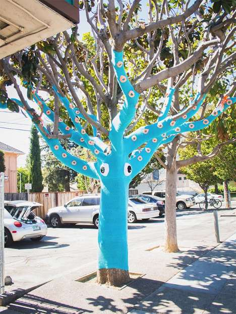 Tentacle-Covered Tree Cozies