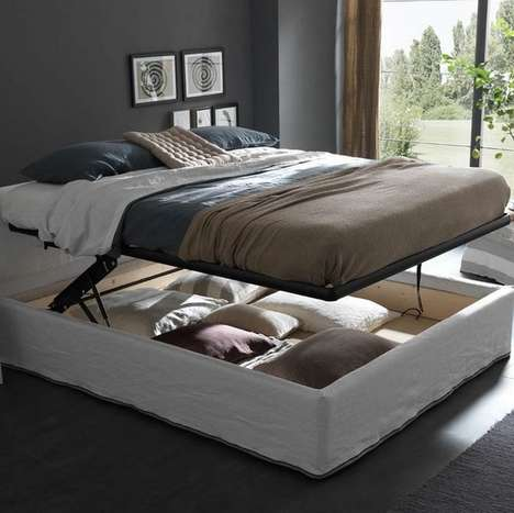 Storage-Savvy Convertible Beds