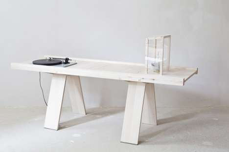 Record Playing Tables