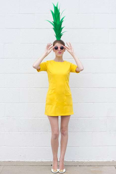 Quirky DIY Fruit Costumes