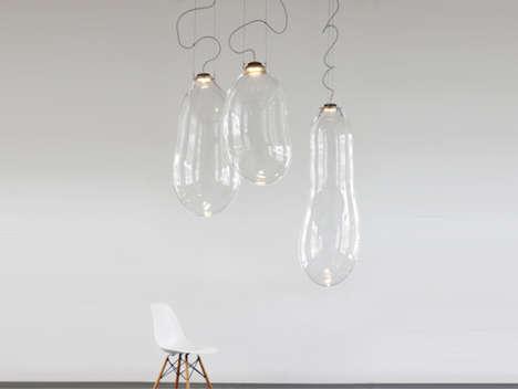 Droopy Ballooning Lightbulbs