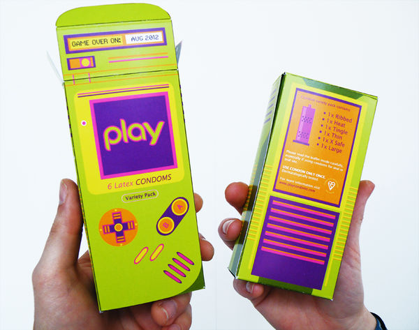 38 Playful Condom Packaging Design Ideas