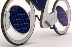 Solar-Paneled Cycles - The Ele Solar Bicycle Soaks Up the Sun's Rays for an Eco Assisted Ride