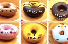 Adorable Animal Donuts (UPDATE) - Floresta's Sweet Donuts Are Health-Conscious and Super Cute