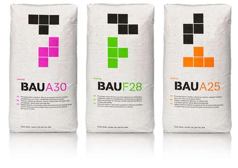 Bold Tetris Branding