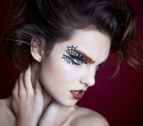 Spooky Temporary Eye Tattoos