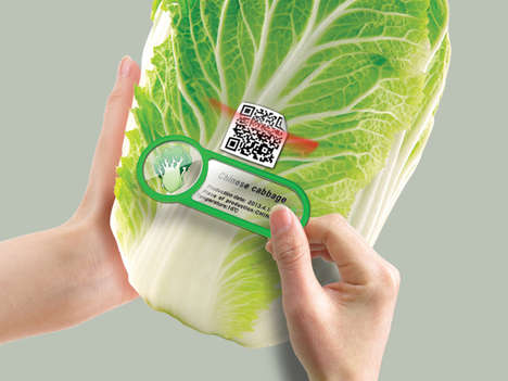 Food Freshness Fridge Magnets - This QR Fridge Magnet Keeps Tabs on Your Produce's Quality