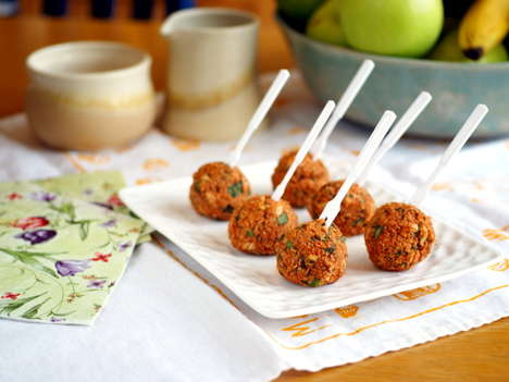 Healthy Savory Seed Pops - Quinoa Pizza Balls Healthy Cake Pop Alternatives