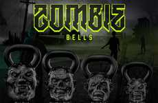 Flesh-Eating Exercise Equipment - Zombie Bells Let You Get Ripped While Warding Off the Undead