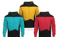 Stylish Starfleet Sweaters - The Star Trek Uniform Hoodie Lets You Casually Cosplay
