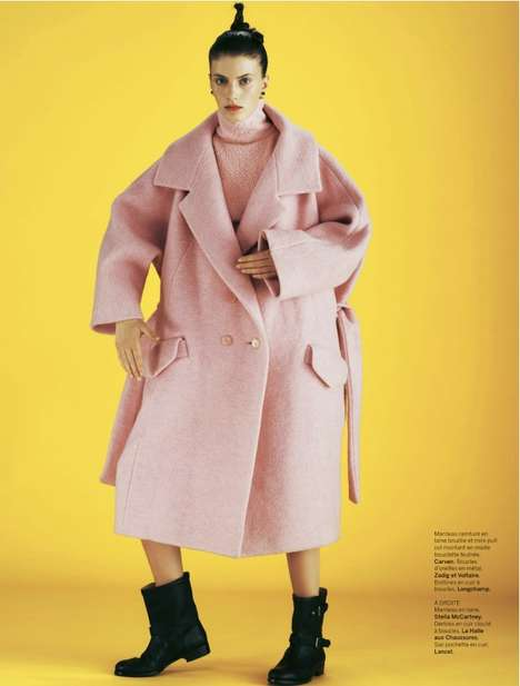 This Stylist France Editorial Features Bright Oversized Jackets