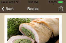 Effortless Meal-Planning Apps - ZipList Makes It Easy to Create Daily Dinners and Holiday Meals