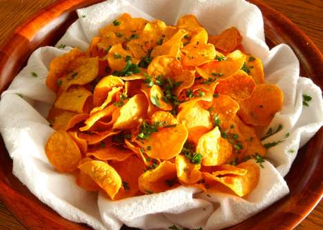 Healthy Homemade DIY Chips - Make Sweet Potato Chips When You Have a Craving for Store-Bought Snacks