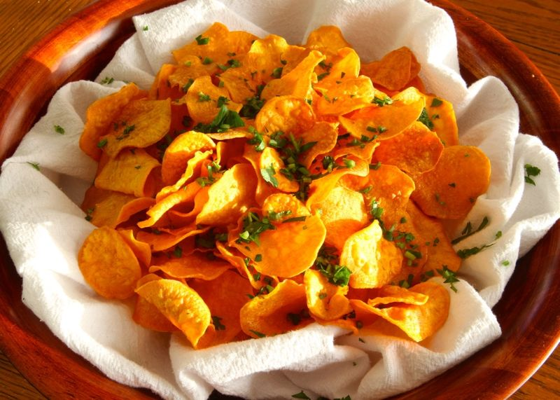 Healthy Homemade DIY Chips