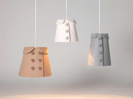 Pea Coat Pendant Lamps