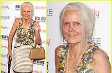 Transformative Elderly Costumes - Heidi Klum's Halloween Costume Aged Her 50 Years