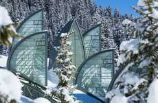 Fin-Shaped Swiss Hotels