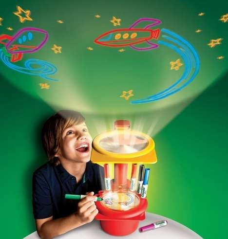 Doodle Light Projectors - The Crayola Sketcher Projector is a Great Gift for Your Little Artist