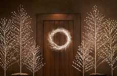 Sparkling LED Christmas Trees