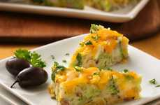 Cheese-Coated Vegetarian Snacks - Cheesy Broccoli Appetizers Will Make Your Kids Love Vegetables