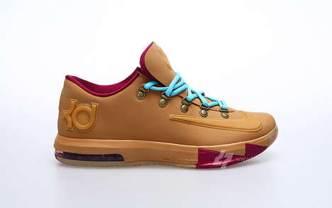Wheat-Inspired Street Foorwear - The KD6 'Wheat' is Farm and Court-Ready