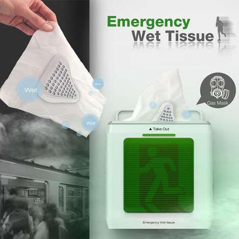 Subway Catastrophe Kleenexes