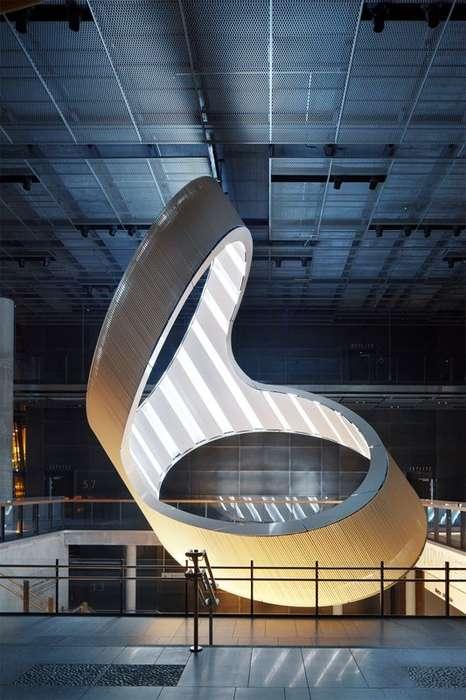 Futuristic Portal-Like Lighting