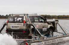 Amphibious SUV World Crossings
