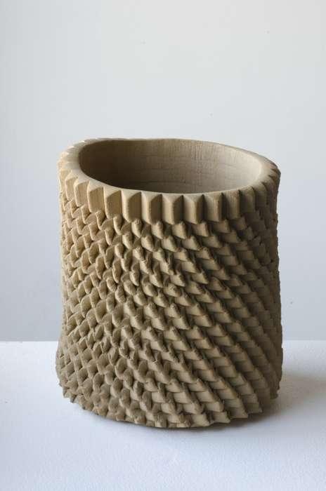 Sculpturally Textured Decor