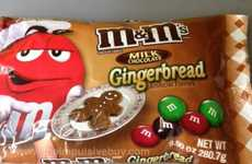Festive Snack Flavors - Gingerbread Twix and M&Ms are the Perfect Holiday Snacks