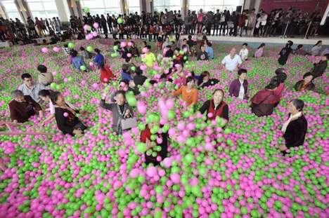 Record-Breaking Ball Pits