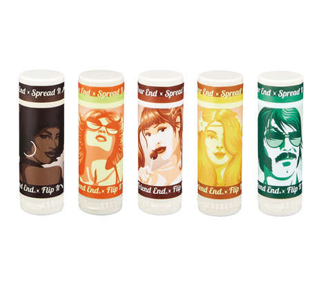 Retro Adult Film Cosmetics - Balm Chicky Balm Balm Combines 70s Adult Films and Lip Balm