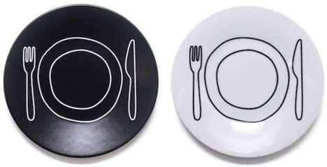 Playfully Illustrated Dishware