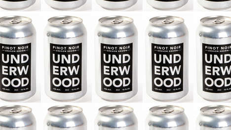 Tastefully Canned Wine - The Union Wine Company Introduces the 'Beerification' of Wine