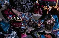 Sweatily Lounging Fashion Ads - The Prada Resort 2014 Campaign is Seductively Idle