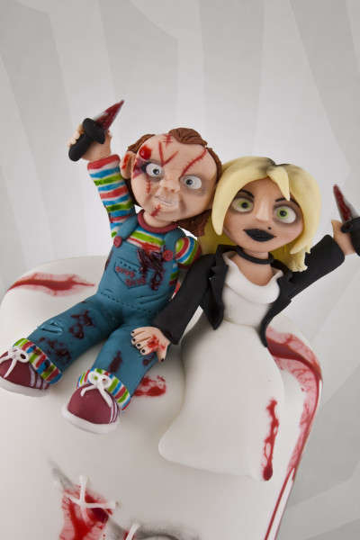 Horror Film Wedding Cakes