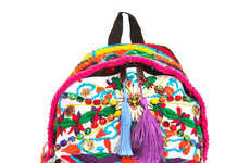 Wearable Art Accessories - The Eastpak Artist Studio 2013 Collection Raises Charity Funds