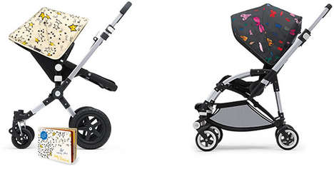Pop Art-Inspired Baby Carriages