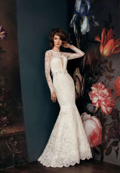 Floral-Inspired Bridal Gown Lookbooks