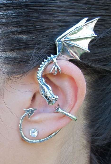 Wild Wyvern Earrings