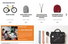 Charitable Online Marketplaces - The New TOMS Marketplace Sells a Variety of Products for Good