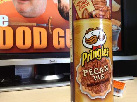 Pie-Flavored Potato Chips - The New Pecan Pie Pringles Hit Shelves Just in Time for the Holidays