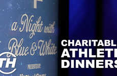 Charitable Athlete Dinners - The Toronto Maple Leafs Night with Blue & White Had a Great Showing