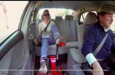 Workout-Encouraging Taxis - Coca-Cola Chile Set Up Incentive to Exercise Inside Taxis