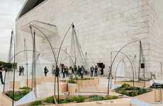 Wireframe Garden Architecture - St Horto by OFL Architecture and Federico Giacomarra is Interactive