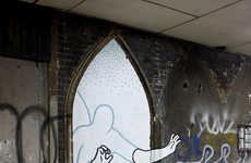 Ghostly Graffiti Characters