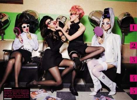 Beauty School Bombshell Editorials